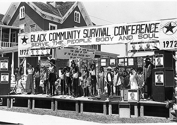 black panther community health 1972