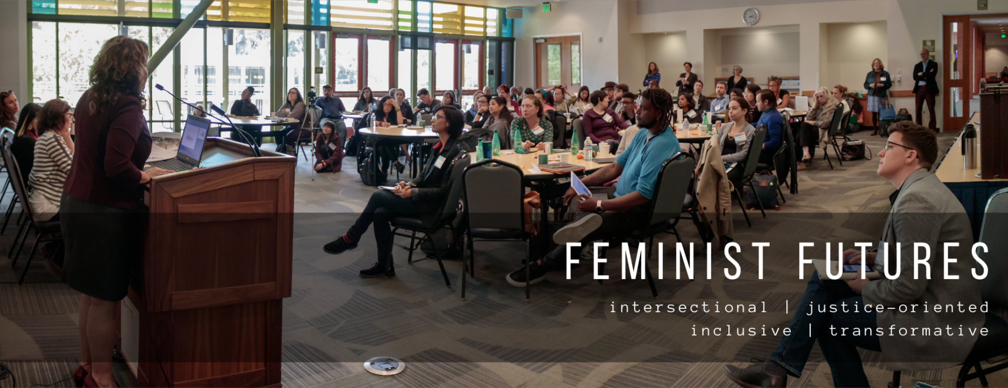 feminist research is intersectional, inclusive, justice-oriented, transformative