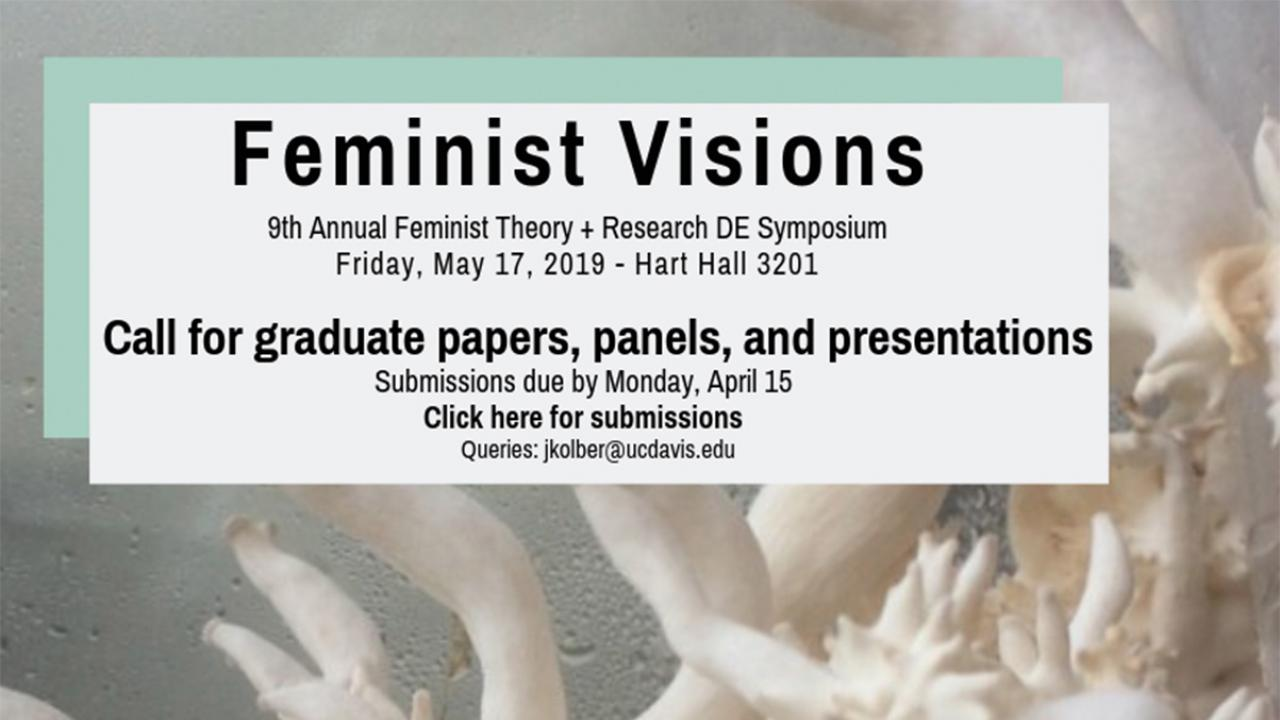 CFP Announcement for Feminist Visions Symposium