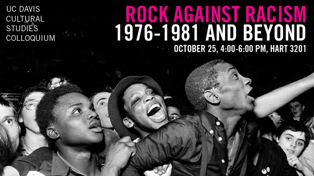Rock Against Racism event banner