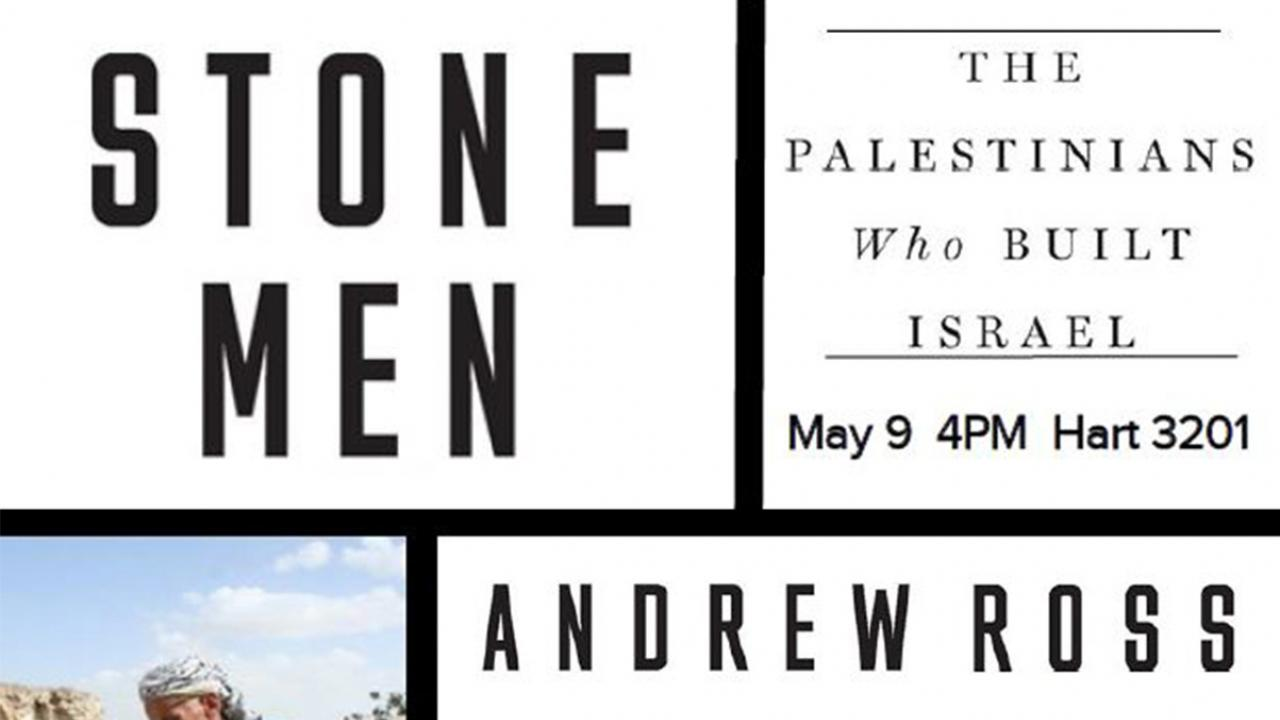 Andrew Ross: Stone Men event banner