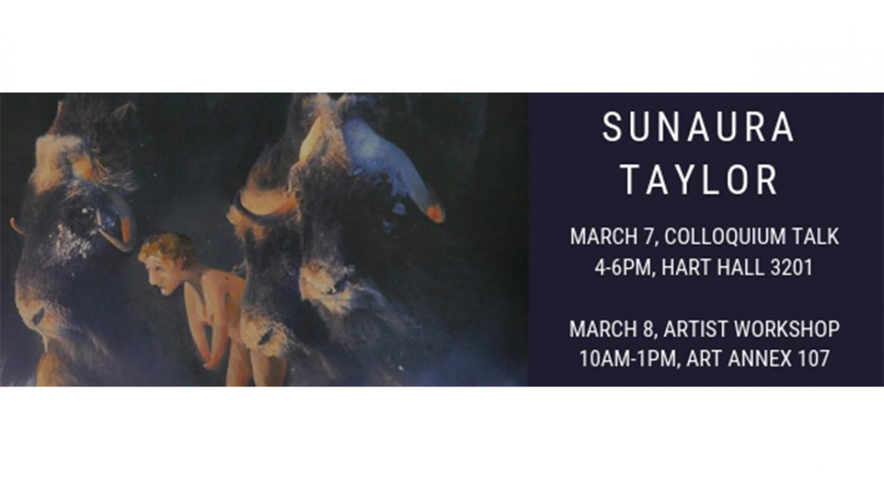 Sunaura Taylor - Art Workshop: Interspecies Dialogues with Pen & Paint