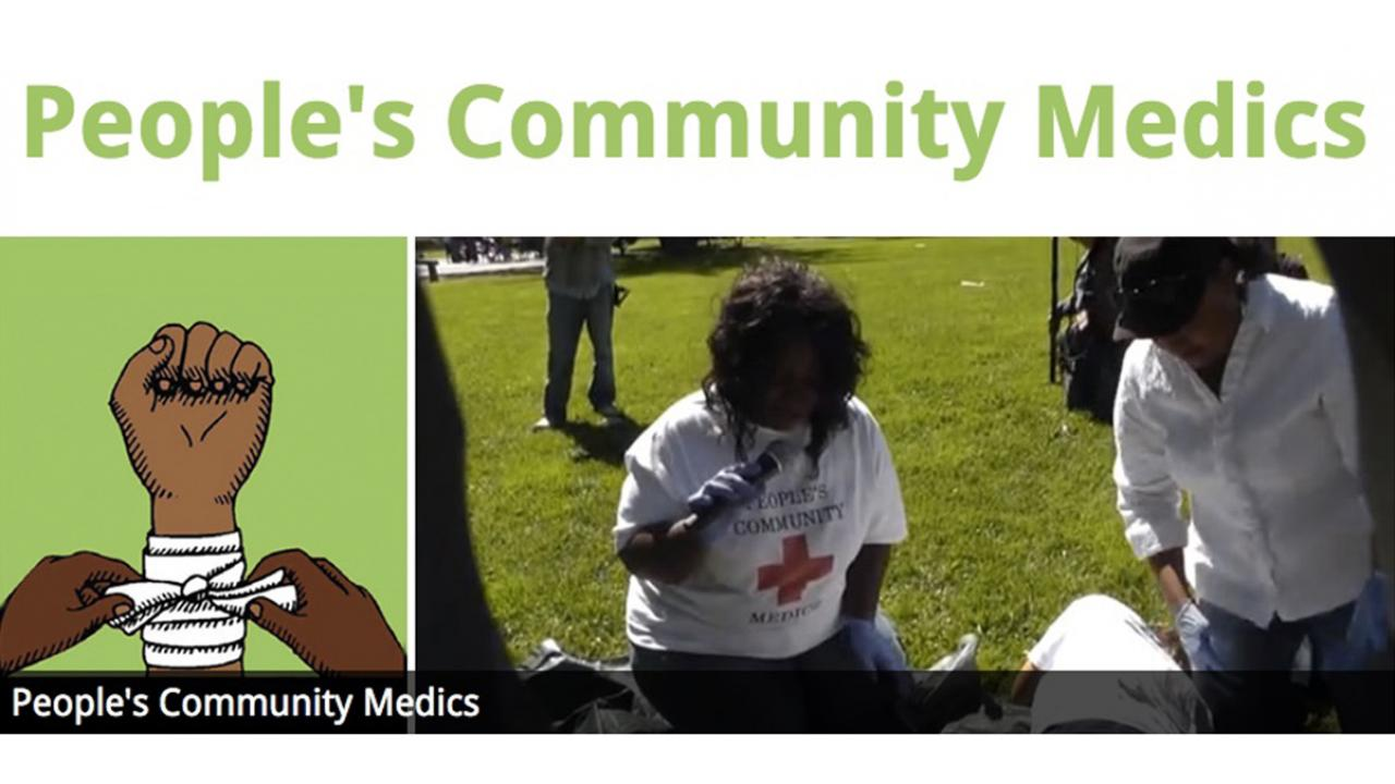 People's Community Medics banner