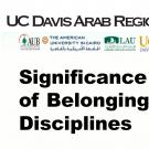 Arab Region Consortium: Significance of Sense of Belonging in STEM Disciplines
