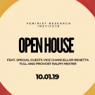 Open House feat. Vice Chancellor Renetta Tull and Provost Ralph Hexter