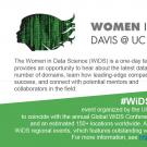 Women in Data Science event banner